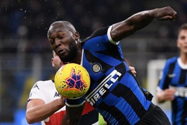 Les Belges à l'étranger - L'Inter bat Genoa (4-0) avec un doublé et un assist de Lukaku