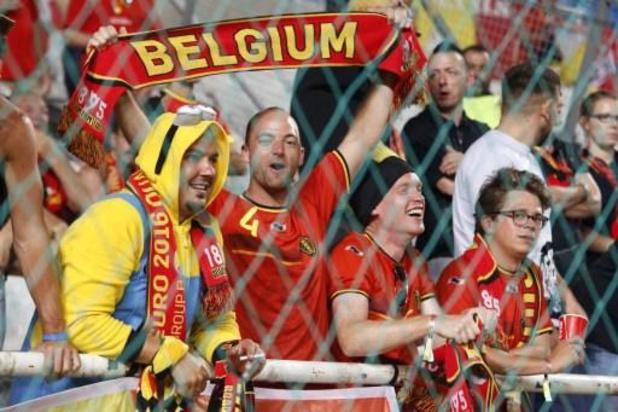 Bijna 20.000 Belgische fans bestelden tickets voor EK 2020