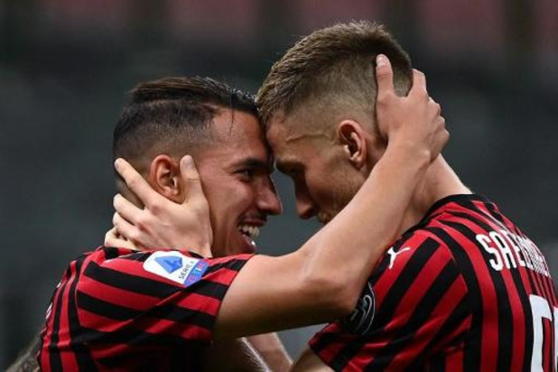 Belgen in het buitenland - Zeges voor Lazio (met Lukaku) en AC Milan (met Saelemaekers) in Italië
