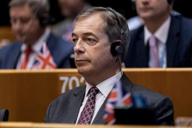 """Farage: """"Nieuwe deal is geen brexit"""""""