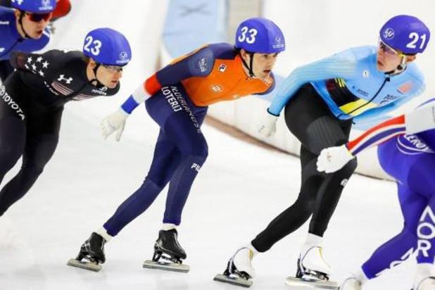 WB schaatsen Heerenveen - Bart Swings verovert zilver in massastart