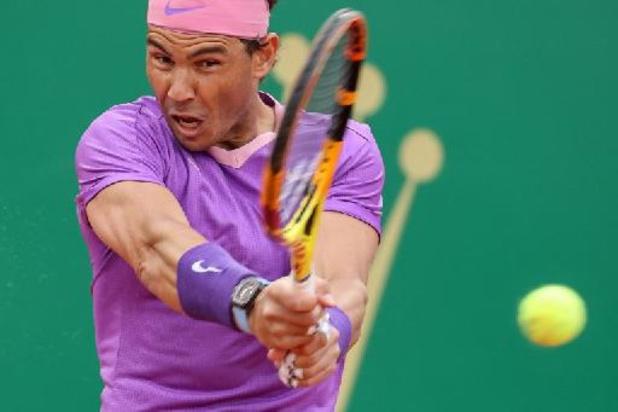 Rafael Nadal tombe sous les coups d'Andrey Rublev