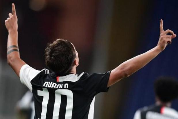 Serie A - La Juventus s'impose au Genoa et reprend quatre points d'avance sur la Lazio