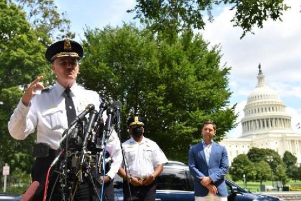 Pas de bombe dans le véhicule du suspect qui menaçait le Capitole