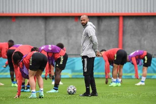 Thierry Henry blijft tot na WK 2022 assistent-bondscoach