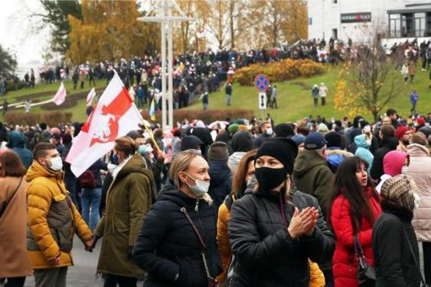 Plus de 300 arrestations durant les manifestations d'opposition au Bélarus