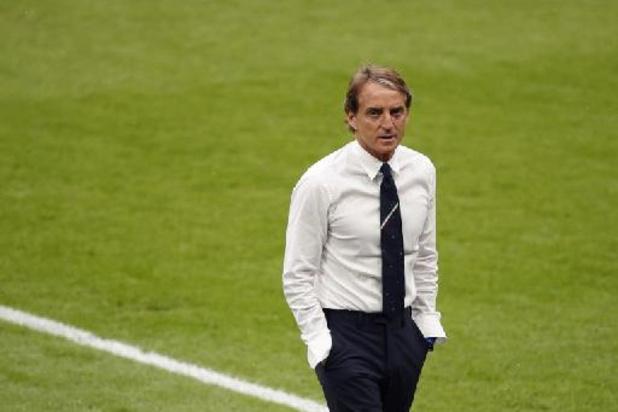"""Euro 2020 - """"Les gars ont été merveilleux"""", se réjouit Mancini"""