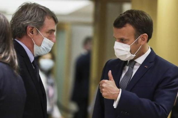 Macron wil dat Europees Parlement vanaf oktober naar Straatsburg terugkeert