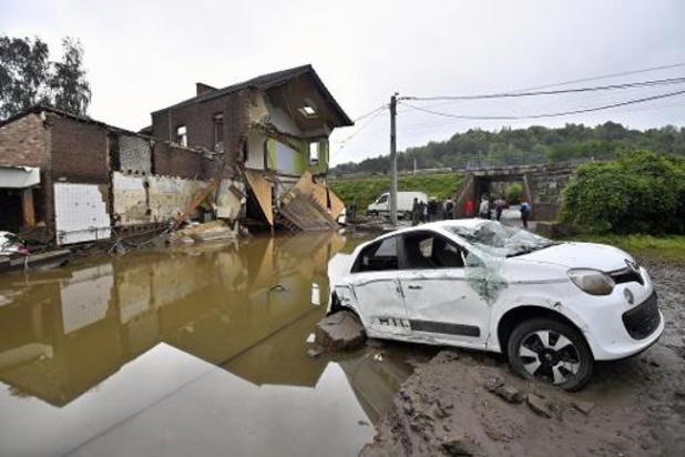 Overstromingen: België hoopt op 185 miljoen aan Europese steun