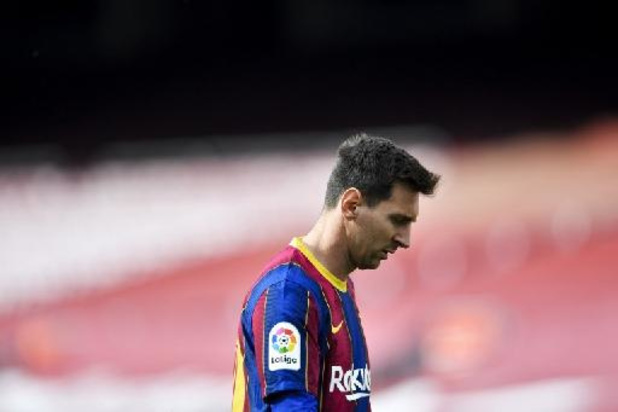 Lionel Messi ne prolongera pas à Barcelone, annonce le club