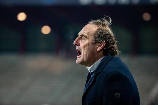 Jupiler Pro League - Yves Vanderhaeghe remercié par Courtrai et remplacé par Luka Elsner