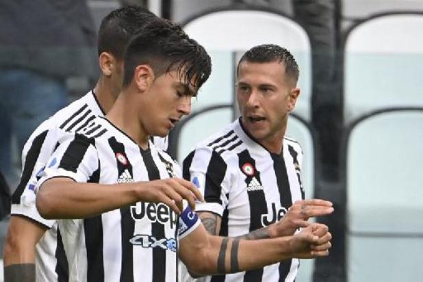 La Juventus privée de ses attaquants Dybala et Morata jusqu'à la trêve internationale