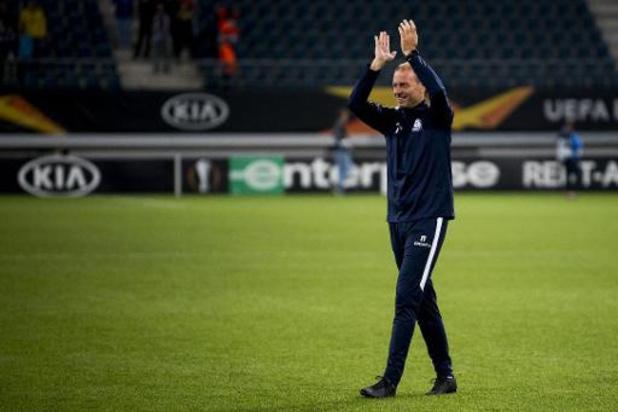 Europa League - Gent-coach Jess Thorup is enkele jaren ouder geworden in wedstrijd tegen Saint-Étienne