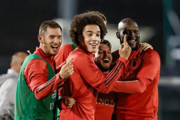 Rode Duivels - Roberto Martinez kiest voor de verwachte namen aan de aftrap, Lukaku start
