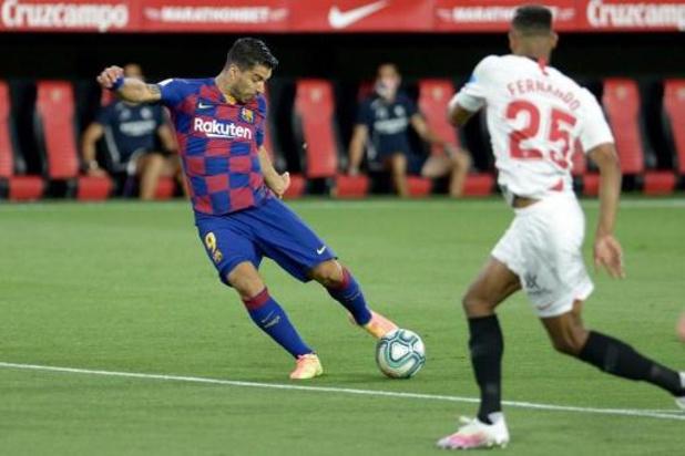 La Liga - Topper Sevilla-Barcelona levert geen doelpunten op