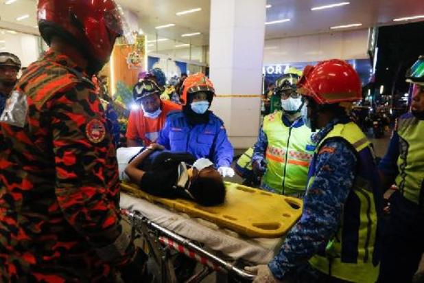 Six personnes dans un état critique après la collision de trains à Kuala Lumpur