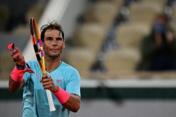 Titelverdediger Rafael Nadal stoomt door naar derde ronde Roland Garros