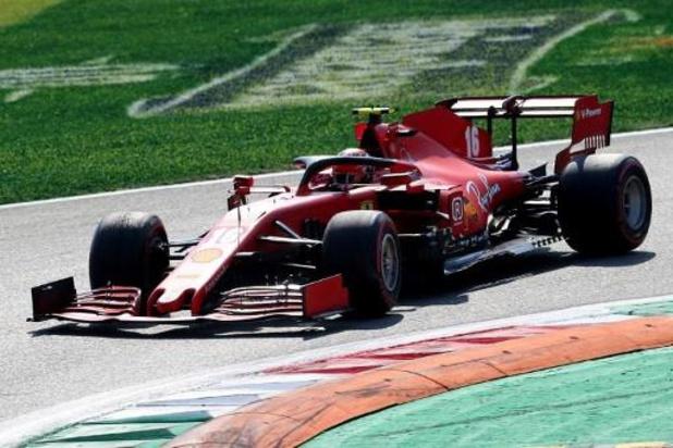 F1 - Ferrari avec des voitures de couleur bordeaux pour son 1000e Grand Prix au Mugello