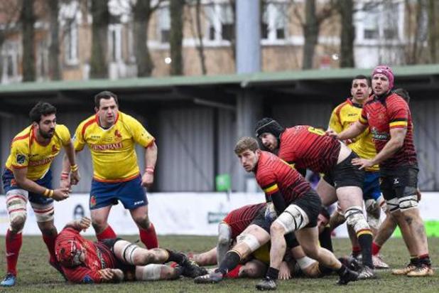 Rugby Europe Championship - La Belgique débute son tournoi par une défaite au Portugal