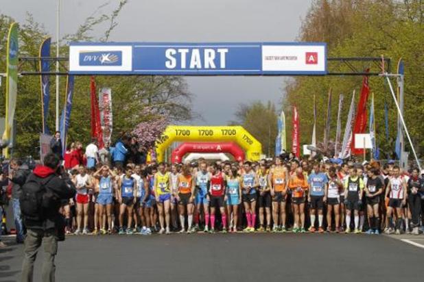 Golazo déplace tous les événements prévus jusqu'au 1er juin, les 10 miles d'Anvers annulés