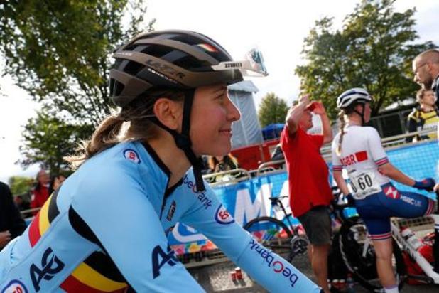 """Mondiaux de cyclisme - Sofie De Vuyst, 14e et première Belge: """"Chapeau à van Vleuten"""""""