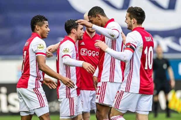Europa League: Ajax en ManU zetten weg naar finale voort, Slavia, Dinamo en Granada hopen op nieuwe stunt
