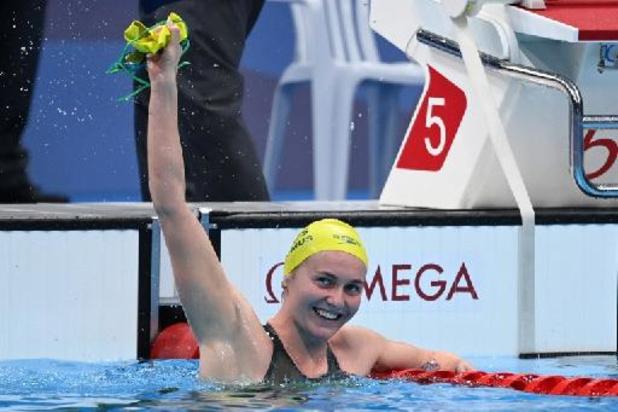 JO 2020 - L'Australienne Ariarne Titmus domine l'Américaine Katie Ledecky sur 400 m nage libre