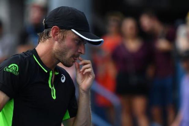 Goffin zakt naar 33e plaats op quasi ongewijzigde ATP-ranking