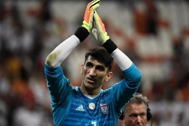 L'Antwerp annonce l'arrivée du gardien international iranien Alireza Beiranvand
