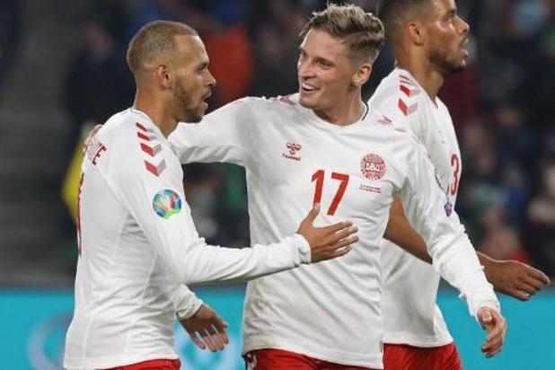 Kwal. EK 2020 - Zwitserland en Denemarken naar EK