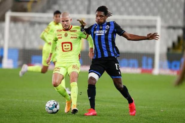 Simon Deli (FC Bruges) pourra jouer mercredi soir face à Dortmund