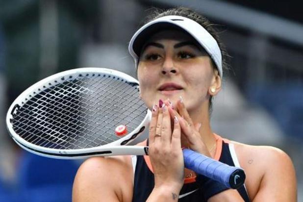 Bianca Andreescu gagne son premier match depuis 2019