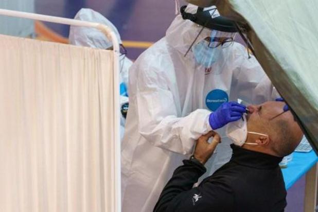 Le taux de reproduction du virus à nouveau légèrement inférieur à 1 pour la Belgique