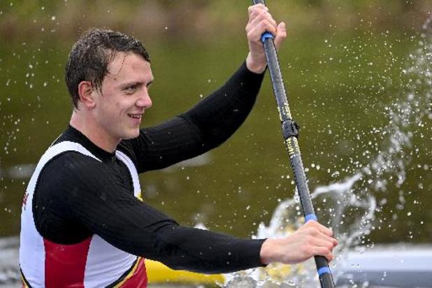 Artuur Peters wint A-finale K1 1.000m en pakt olympisch ticket