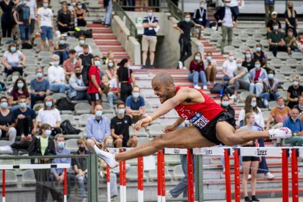 Championnats de Belgique d'athlétisme - Résultats de dimanche