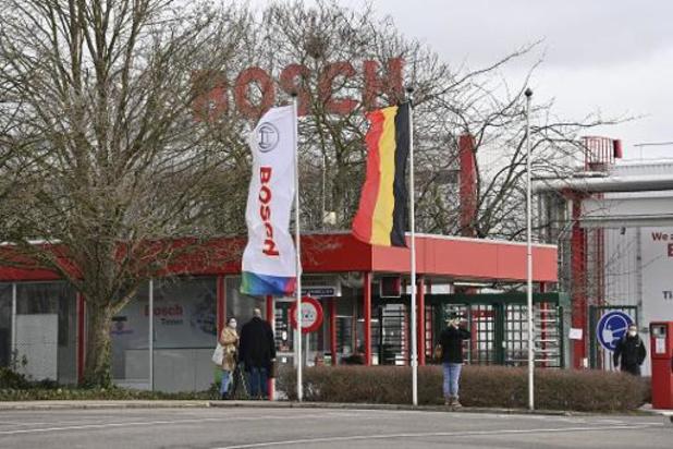 La production de Bosch Tirlemont à l'arrêt