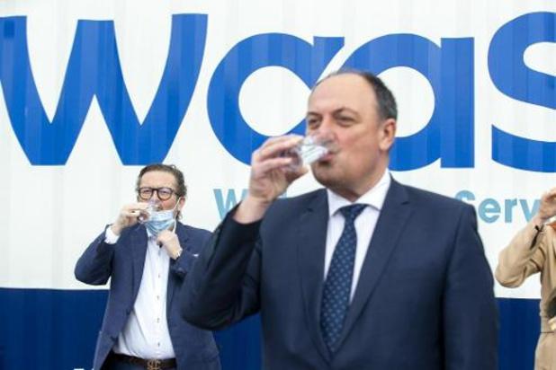 West-Vlaamse waterzuivering decimeert drinkwaterverbruik van Henegouws farmabedrijf