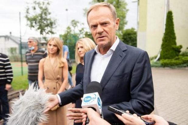 Donald Tusk waarschuwt voor Poolse exit uit Europese Unie