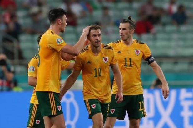 Wales doet gouden zaak dankzij 2-0 overwinning tegen Turkije