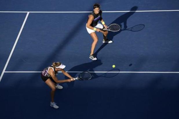 Elise Mertens plaatst zich voor derde ronde dubbelspel op Australian Open