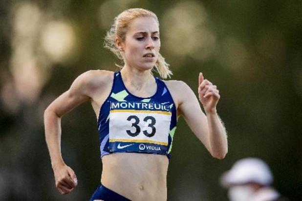 """Atletiekmeeting Montreuil - Elise Vanderelst sprokkelt belangrijke punten voor olympische ranking: """"Mag niet klagen"""""""