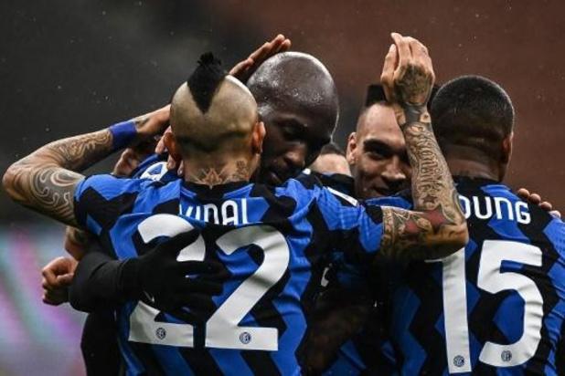Les Belges à l'étranger - Romelu Lukaku ne marque pas, mais l'Inter prend trois points au Hellas Vérone