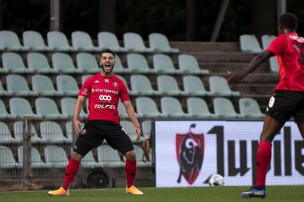 1B Pro League - Georges Mikautadze bezorgt Seraing met vier goals 3-5 zege in Lommel