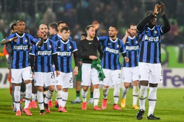 Europa League - Scorende Lukaku stoot door met Inter, Ajax en Celtic uitgeschakeld