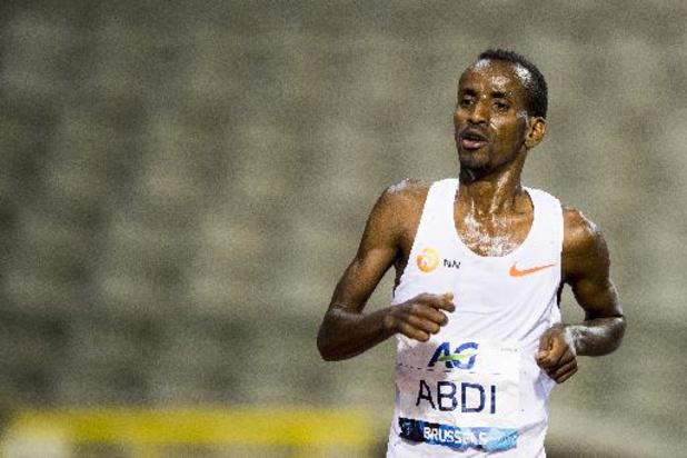 Great North Run: Bashir Abdi finisht als zesde bij eerste wedstrijd na olympische marathon