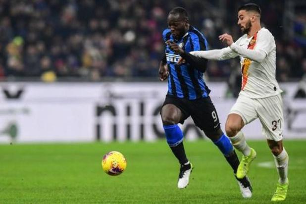 Belgen in het buitenland - Lukaku bijt met Inter tanden stuk op AS Roma