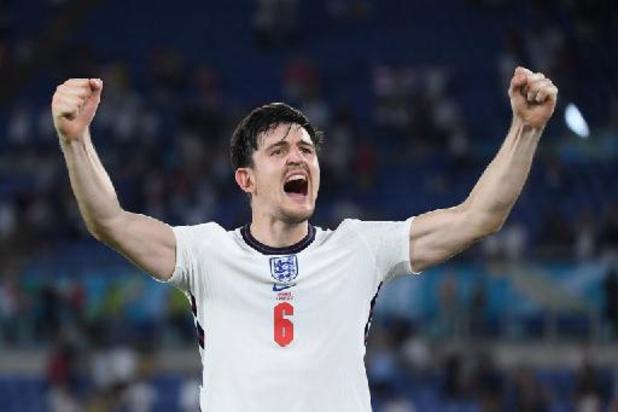 "Euro 2020 - L'Angleterre ""ne se contentera pas d'une demie"", avertit Maguire"