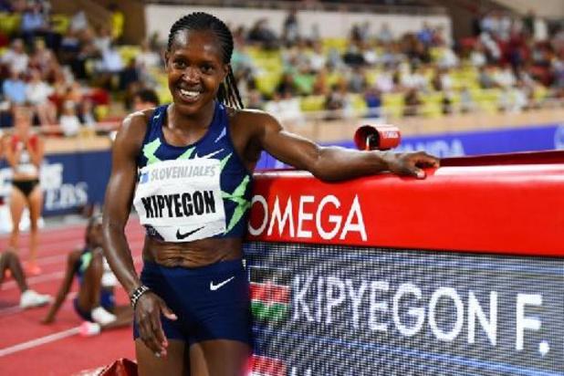 Ligue de diamant - 1500 dames: 4e performance de tous les temps pour Faith Kipyegon