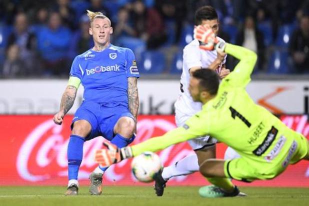 Jupiler Pro League - Racing Genk wint bibberend van Cercle Brugge
