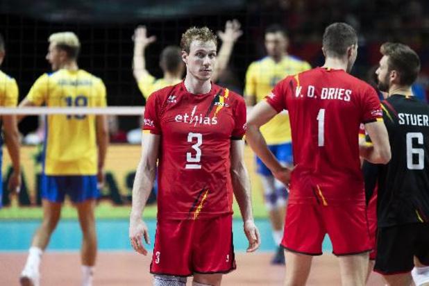 EK volley (m) - Red Dragons kunnen niet stunten tegen titelverdediger Servië